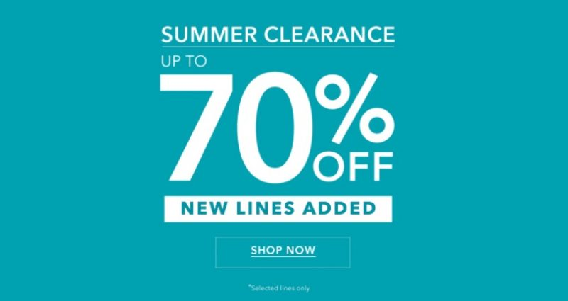 Miss Selfridge Up To 70% Off Sale!!   (affiliate link)