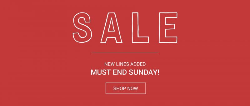 Mamas & Papas Mid Season Sale!! Ends Sunday (1st October)      – Affiliate link