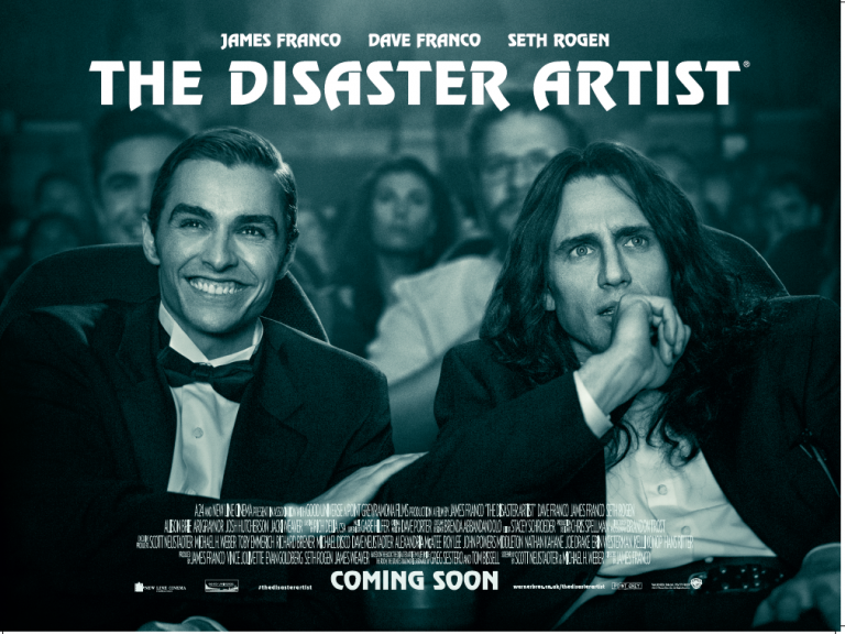 FREE CINEMA TICKETS TO THE DISASTER ARTIST 27TH NOV 6.30PM VARIOUS LOCATIONS!
