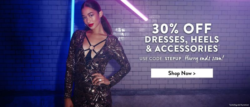 30% off Dresses and heels online at Boohoo tonight only! (9th Nov)      Affiliate link