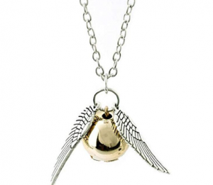 Harry Potter Golden Snitch necklace 44p with FREE delivery [affiliate link]